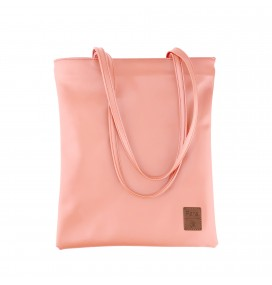 Pera Pink Zippered Tote Bag