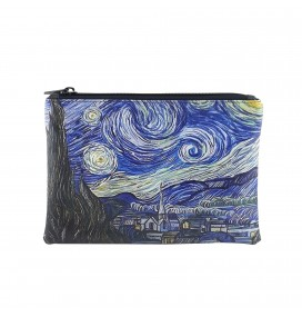 Van Gogh Starry Night Printed Portfolio and Bag Organizer