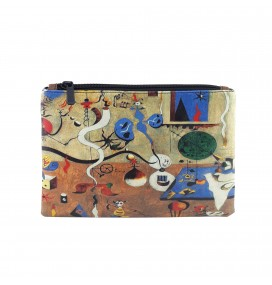 Joan Miro Carnival of Harlequin Printed Portfolio and Bag Organizer