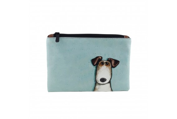 Dog Printed Portfolio and Bag Organizer