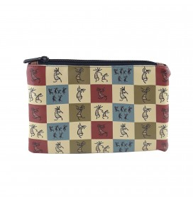 Kokopelli Printed Portfolio and Bag Organizer