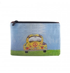 VW Beetle Printed Portfolio and Bag Organizer