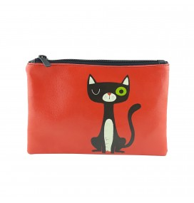 Cat Printed Portfolio and Bag Organizer