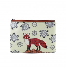 Fox Printed Portfolio and Bag Organizer