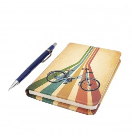 Bike Printed Pocket Notebook