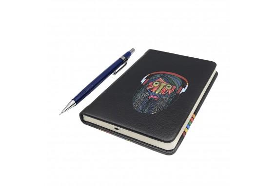 Hipster Printed Custom Design Pocked Notebook