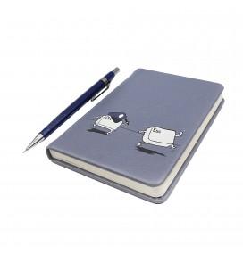 Ctrl Esc Printed Pocked Notebook