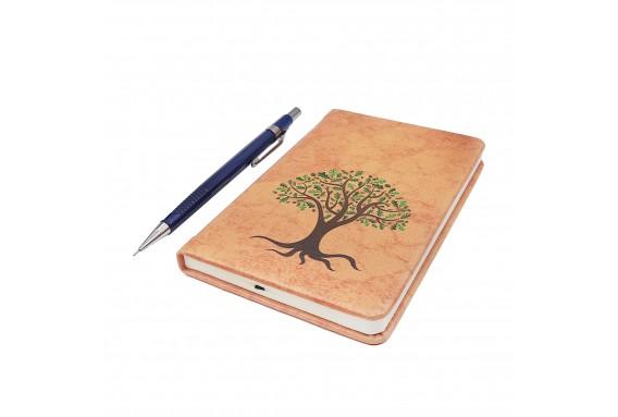 Tree Printed Pocked Notebook