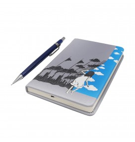 Ecological Curtain Printed Pocked Notebook