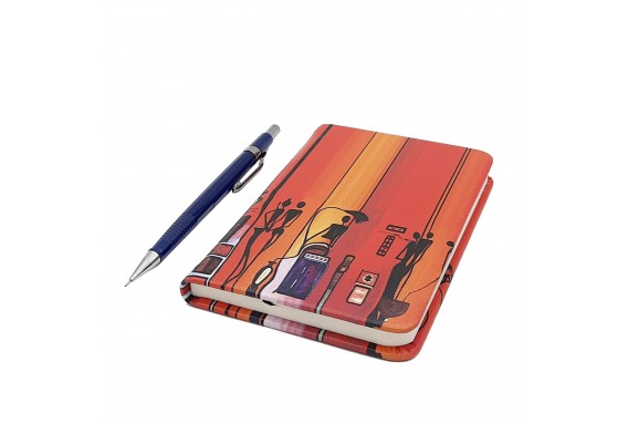 Ethnic Printed Pocked Notebook