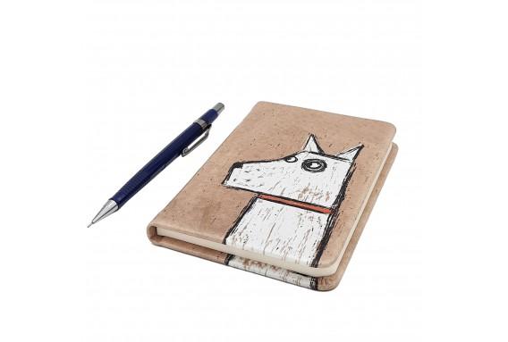 Dog Printed Pocked Notebook