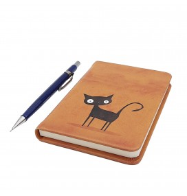 Cat Printed Custom Notebook