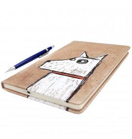 Dog Printed Big Notebook