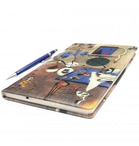 Joan Miro Printed Big Notebook