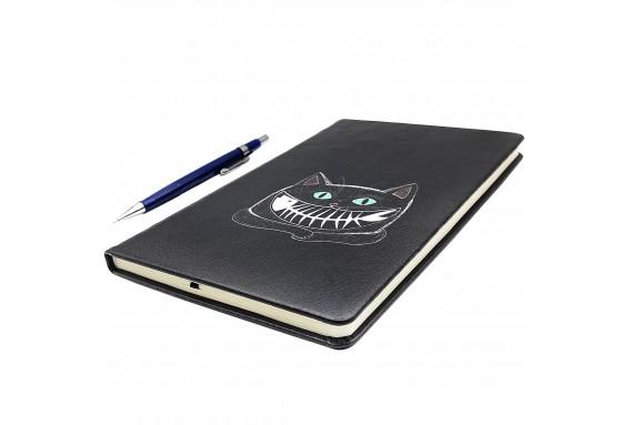 Cat Printed Big Notebook