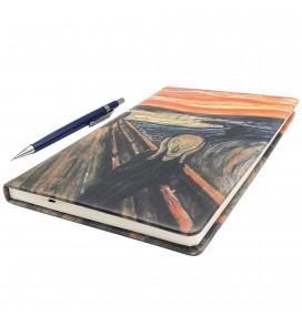 Scream Printed Big Notebook