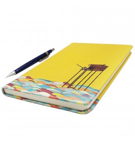 Fisherman Printed Big Notebook