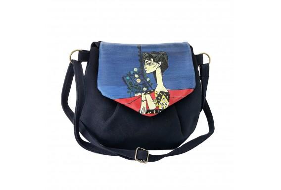 Picasso Printed Custom Design Pouch Bag