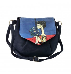 Picasso Printed Custom Design Pouch Bag