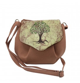 Tree Printed Pouch