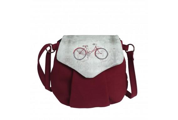 Bike Printed Pouch Bag