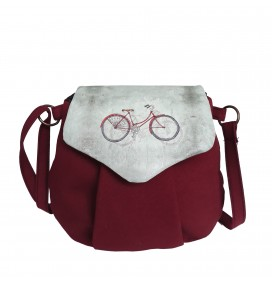 Bike Printed Pouch Bag