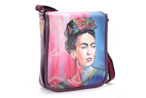 Perabags Frida Kahlo Printed Shoulder Bag
