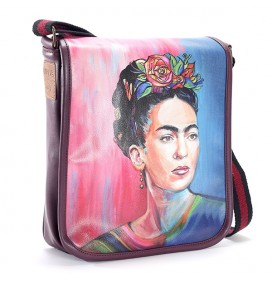 Frida Kahlo Printed Shoulder Bag