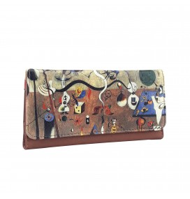 Joan Miro Carnival of Harlequin Printed Tobacco Pounch