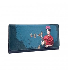 Frida Kahlo Printed Tobacco Pounch