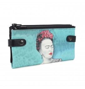 Frida Kahlo Printed Custom Design Wallet
