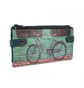Bike Printed Custom Design Wallet