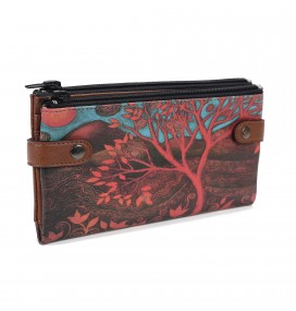 Tree Printed Custom Design Wallet