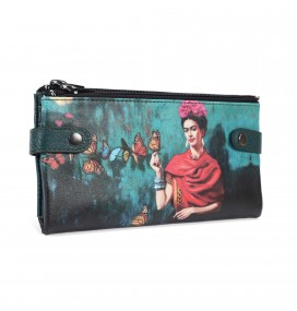 Flowers Printed Custom Design Wallet