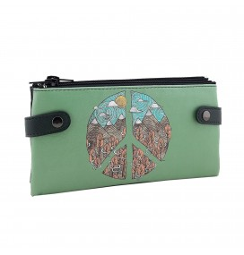Peace Printed Custom Design Wallet