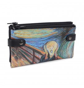 Scream Printed Custom Design Wallet