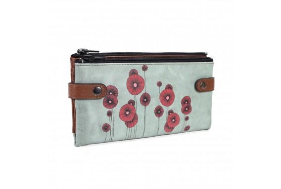 Poppy Printed Custom Design Wallet