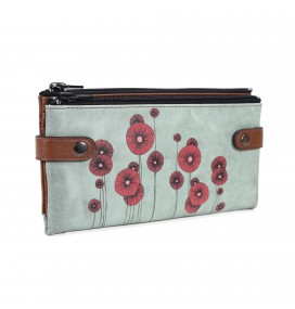 Poppy Printed Custom Design Wallet