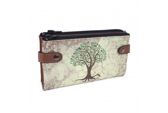 Olive Tree Printed Custom Design Wallet