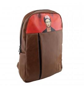 Σακίδιο Πλάτης για Φορητό Υπολογιστή 15.6 inc Laptop με Σχέδιο Frida Kahlo