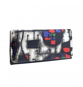 Joan Miro Printed Tobacco Pounch