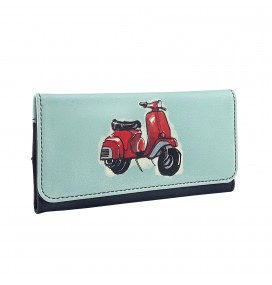 Vespa Printed Tobacco Pounch