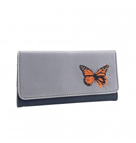 Butterfly Printed Tobacco Pounch
