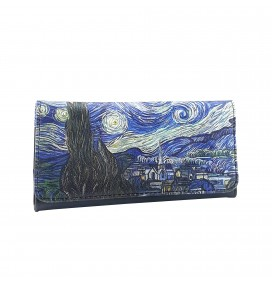 Van Gogh Starry Night Printed Tobacco Pounch