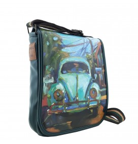 VW Beetle Printed Shoulder Bag