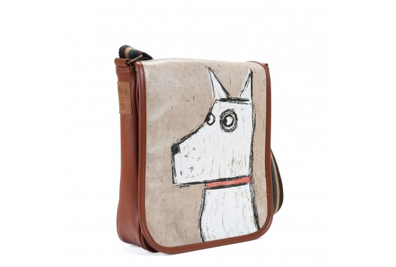 Dog Printed Shoulder Bag