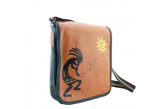 Kokopelli Printed Shoulder Bag