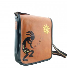 Kokopelli Printed Shoulder Bag