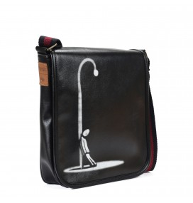 Alone Printed Shoulder Bag