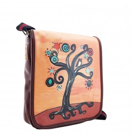 Tree Printed Sholuder Bag